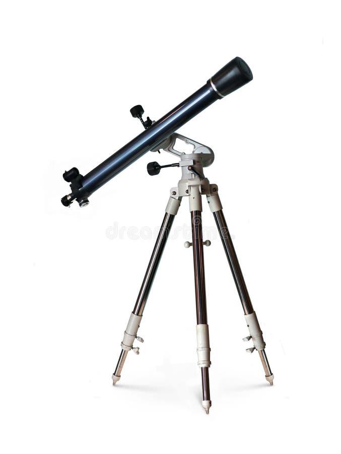 Τηλεσκόπιο που στέκεται στο τρίποδο στοκ φωτογραφία