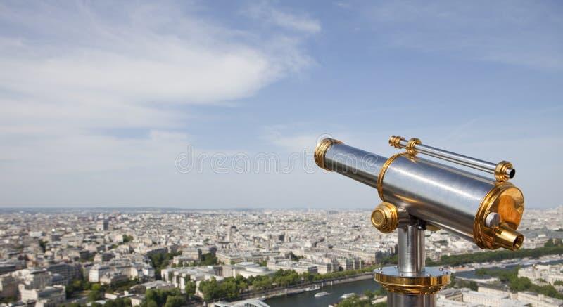 τηλεσκόπιο πόλεων στοκ φωτογραφίες