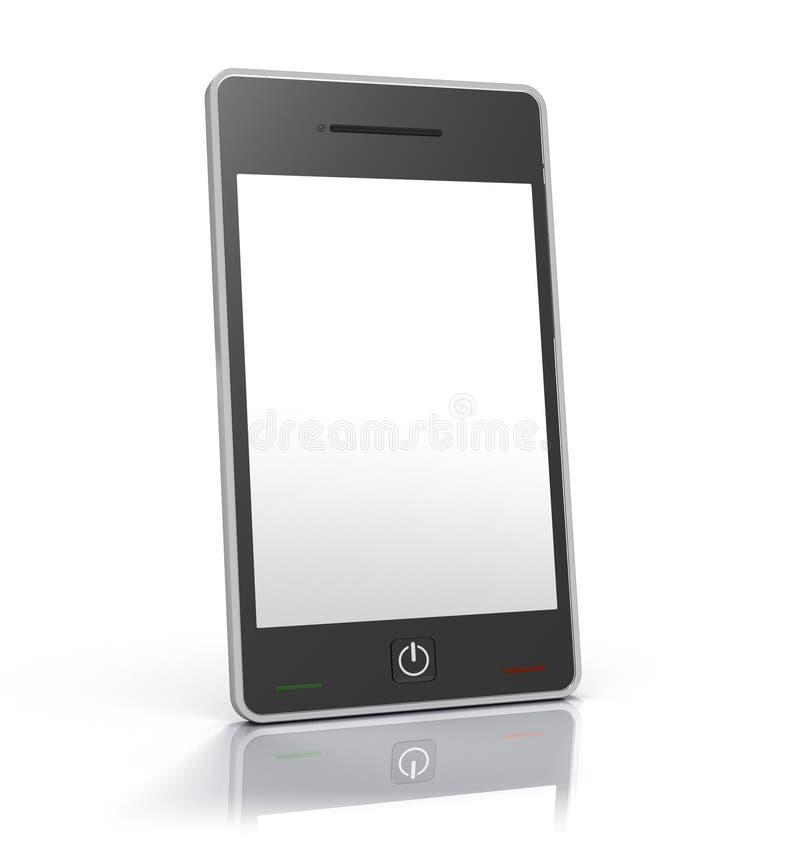 τηλεφωνική οθόνη συσκε&upsil απεικόνιση αποθεμάτων