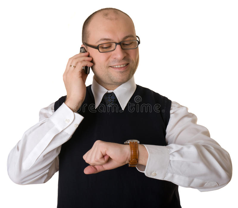 τηλεφωνική ομιλία ατόμων στοκ εικόνα με δικαίωμα ελεύθερης χρήσης