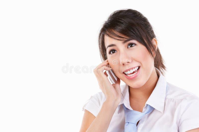 τηλεφωνική ομιλία κυττάρ&ome στοκ εικόνα με δικαίωμα ελεύθερης χρήσης