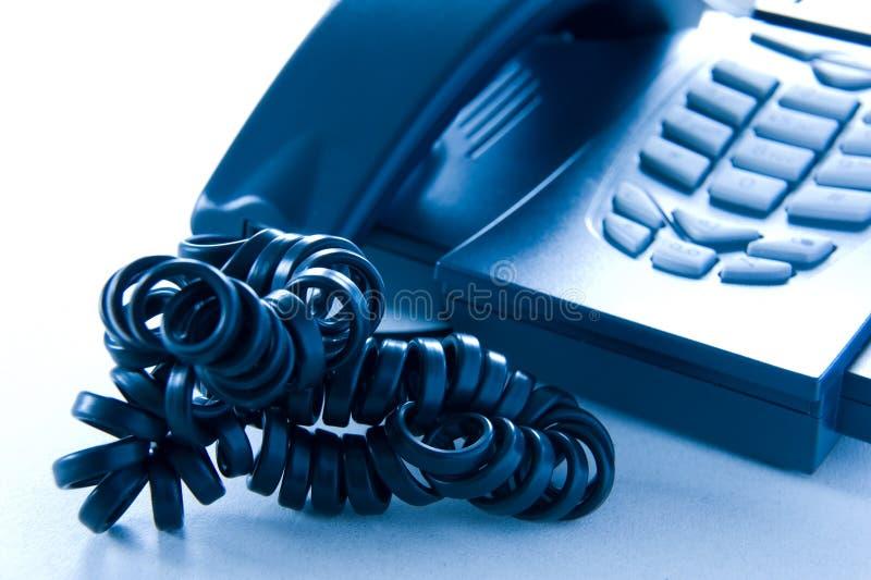 τηλεφωνική πίεση στοκ εικόνα