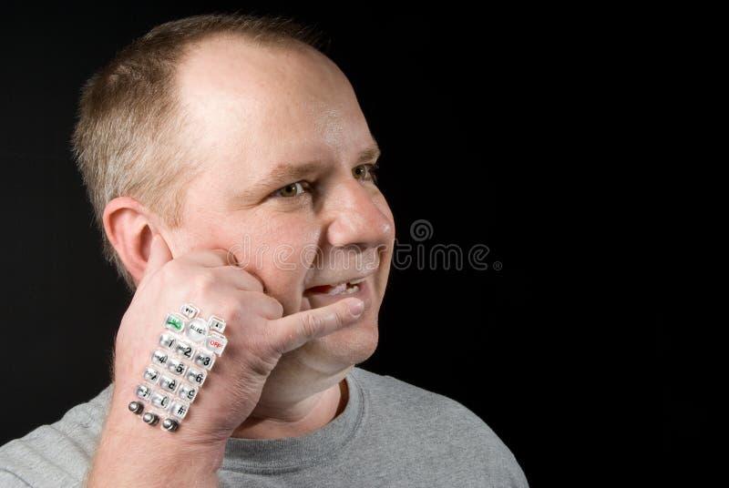 Τηλεφωνική συνομιλία στοκ φωτογραφία με δικαίωμα ελεύθερης χρήσης