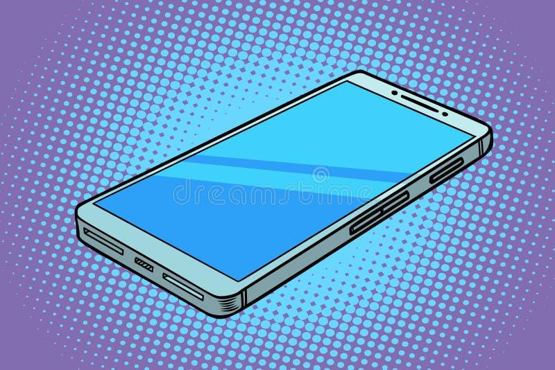 Τηλεφωνική συσκευή Smartphone ελεύθερη απεικόνιση δικαιώματος