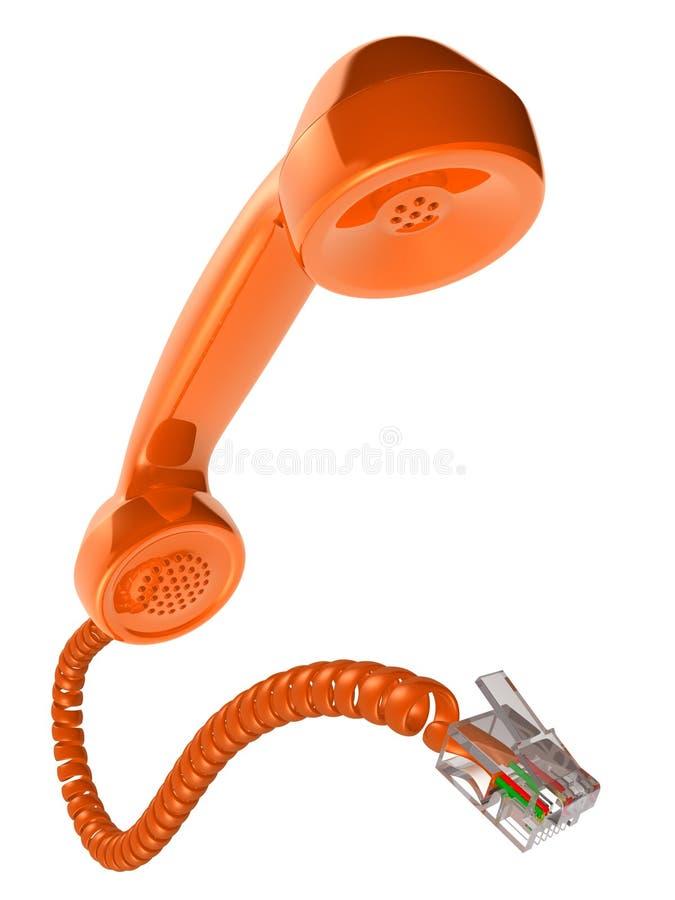 τηλεφωνικός δέκτης ελεύθερη απεικόνιση δικαιώματος
