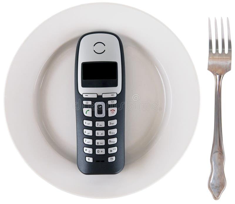 τηλεφωνικός σωλήνας στοκ εικόνα
