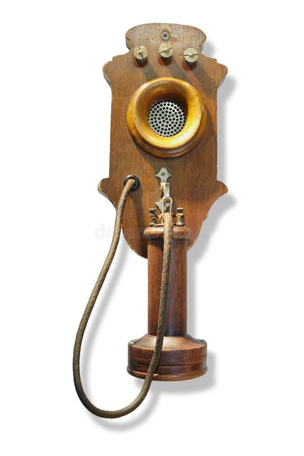 τηλεφωνικός τοίχος συστημάτων μπαταριών κεντρικός επικολλημένος στοκ εικόνα με δικαίωμα ελεύθερης χρήσης
