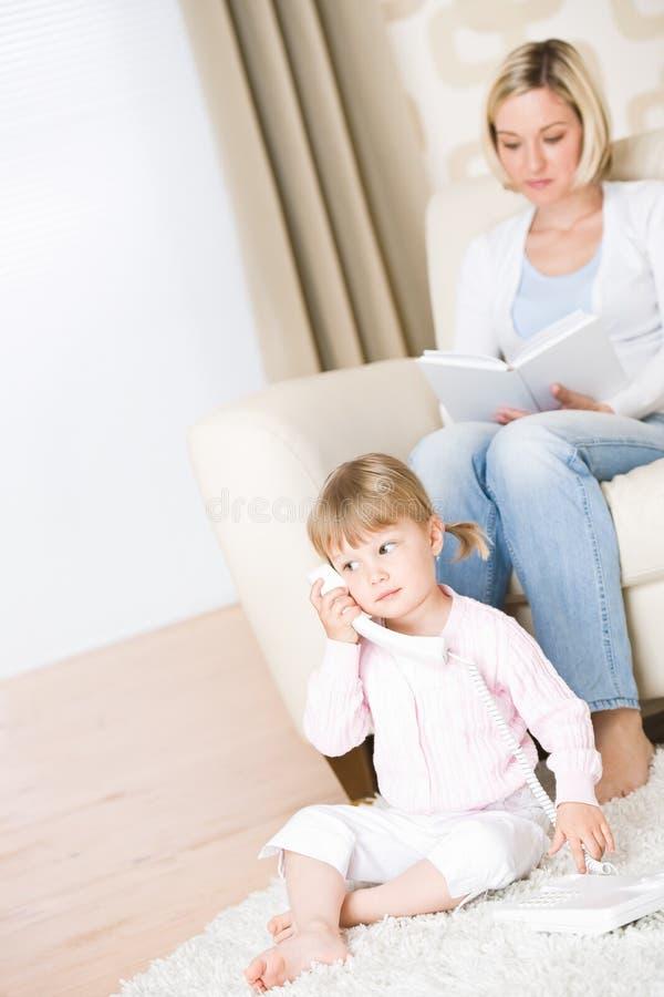 τηλεφωνικό δωμάτιο μητέρων  στοκ φωτογραφίες