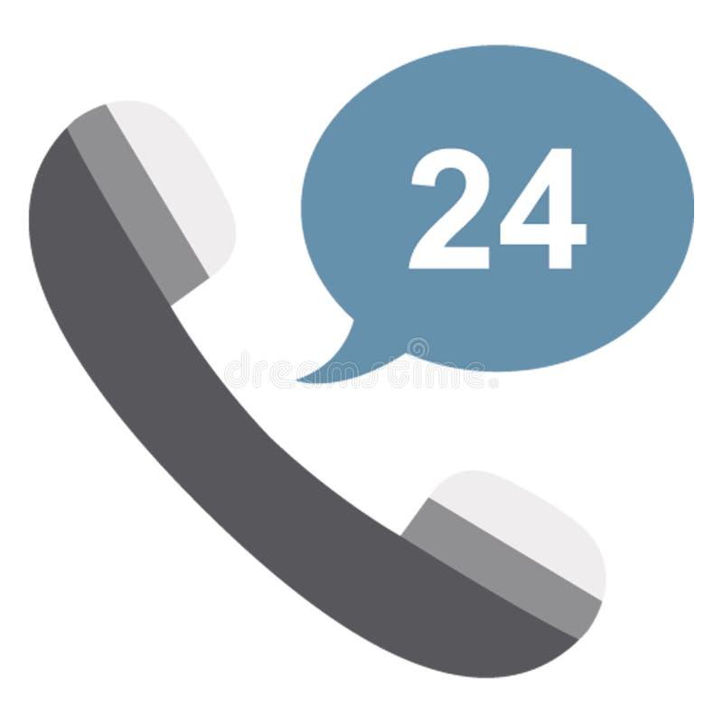 Τηλεφωνικό κέντρο, απομονωμένο υποστήριξη πελατών διανυσματικό εικονίδιο που μπορεί να εκδοθεί εύκολα ελεύθερη απεικόνιση δικαιώματος