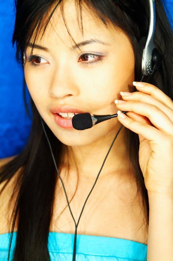 τηλεφωνικό κέντρο πρακτόρ&omega στοκ φωτογραφία