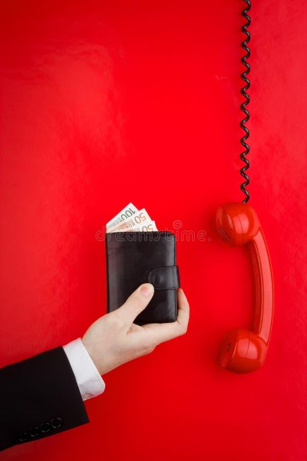 τηλεφωνικό κόκκινο πορτ&omicro στοκ φωτογραφίες με δικαίωμα ελεύθερης χρήσης
