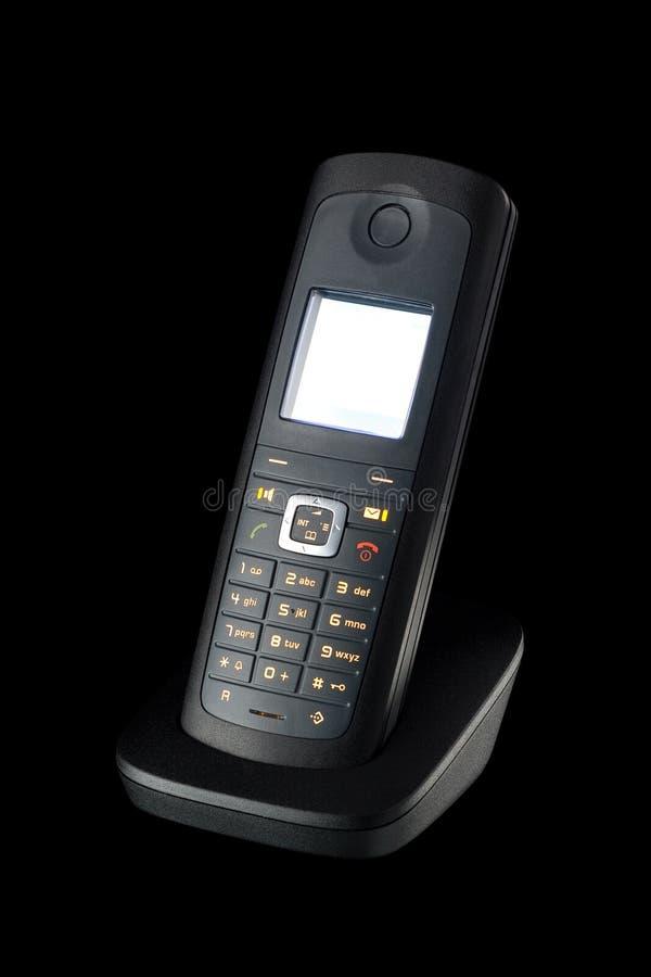τηλεφωνικό ραδιόφωνο στοκ φωτογραφία