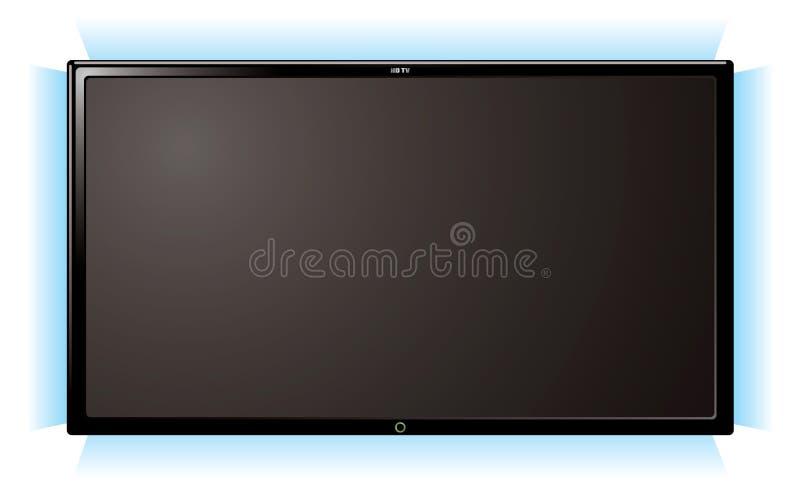 τηλεόραση πυράκτωσης LCD ελεύθερη απεικόνιση δικαιώματος