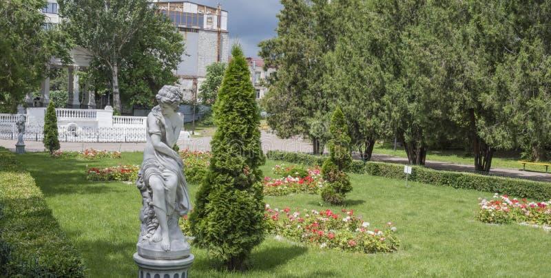 Την άνοιξη το πάρκο του Γκόρκυ, Ροστόφ--φορά, Ρωσία στοκ εικόνες