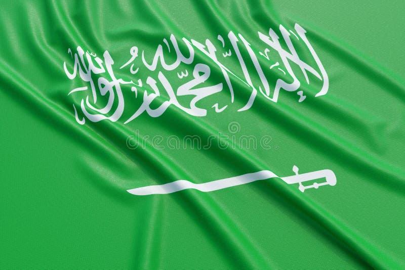 της Αραβίας διαθέσιμο σημαιών διάνυσμα ύφους γυαλιού σαουδικό απεικόνιση αποθεμάτων
