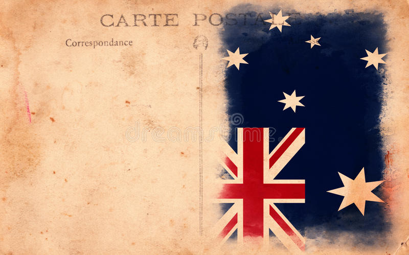 της Αυστραλίας τρύγος κ&al διανυσματική απεικόνιση