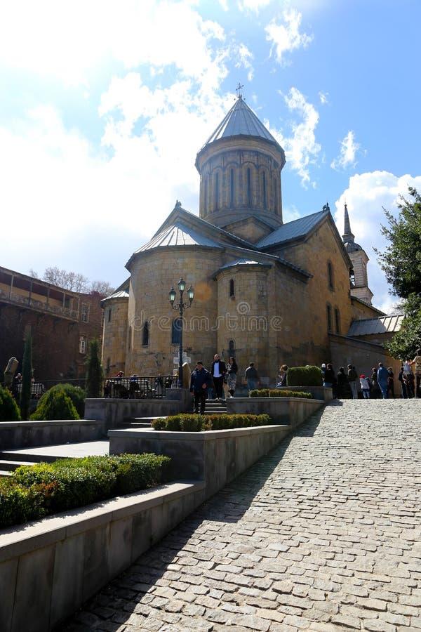 Της Γεωργίας ορθόδοξος καθεδρικός ναός στοκ φωτογραφία