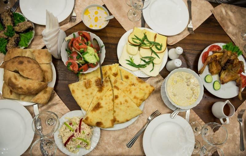 Της Γεωργίας τρόφιμα στοκ φωτογραφίες