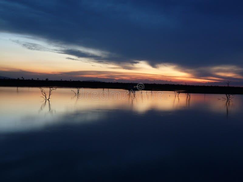 Της Ζιμπάμπουε ηλιοβασίλεμα στοκ εικόνα με δικαίωμα ελεύθερης χρήσης