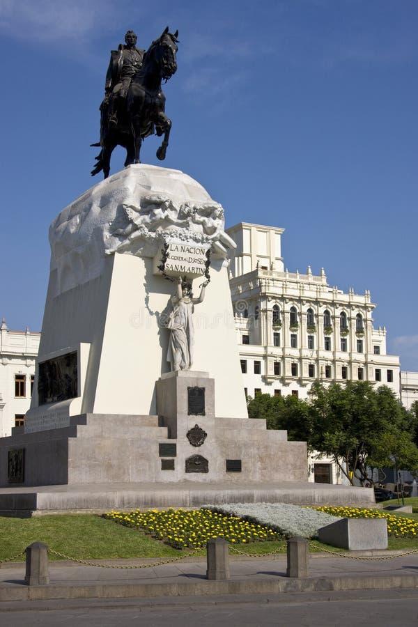 της Λίμα Martin Περού plaza SAN de στοκ εικόνες