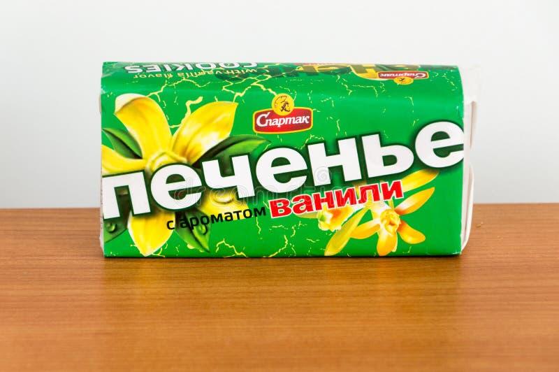 Της Λευκορωσίας μπισκότα με τη γεύση βανίλιας στοκ φωτογραφία με δικαίωμα ελεύθερης χρήσης