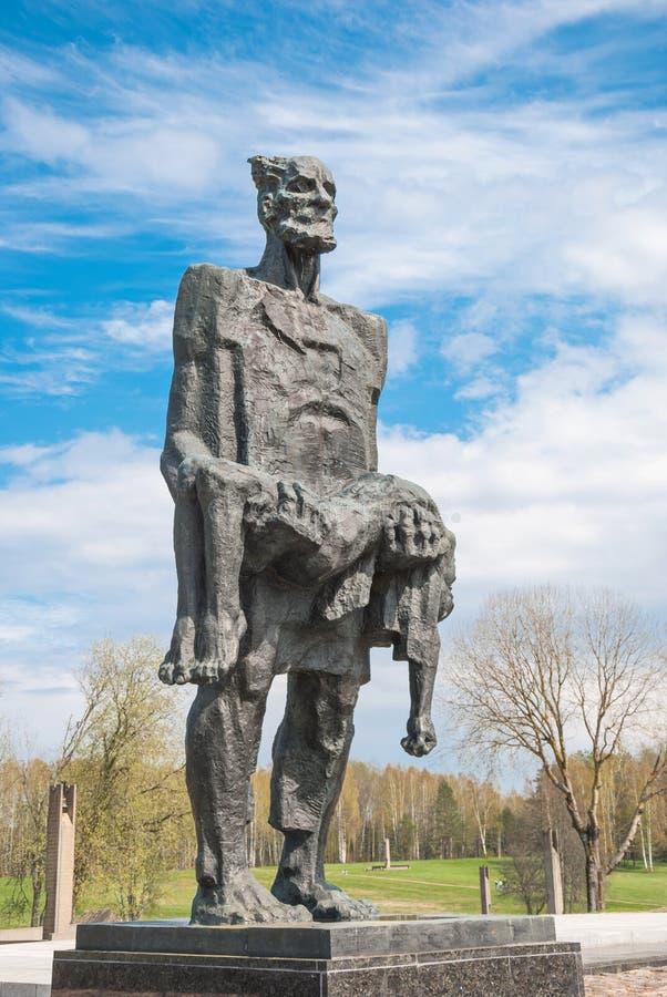 Της Λευκορωσίας χωριό Khatyn στοκ εικόνα