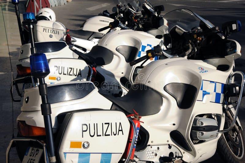 Ποδήλατα αστυνομίας της Μάλτας στοκ εικόνες