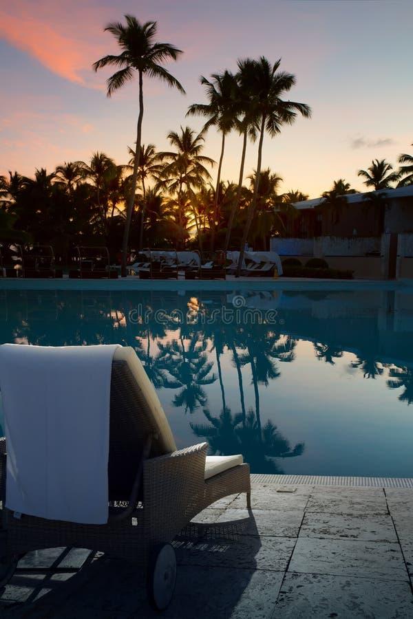 Της Χαβάης έννοια ηλιοβασιλέματος διακοπών τέχνης στοκ εικόνες