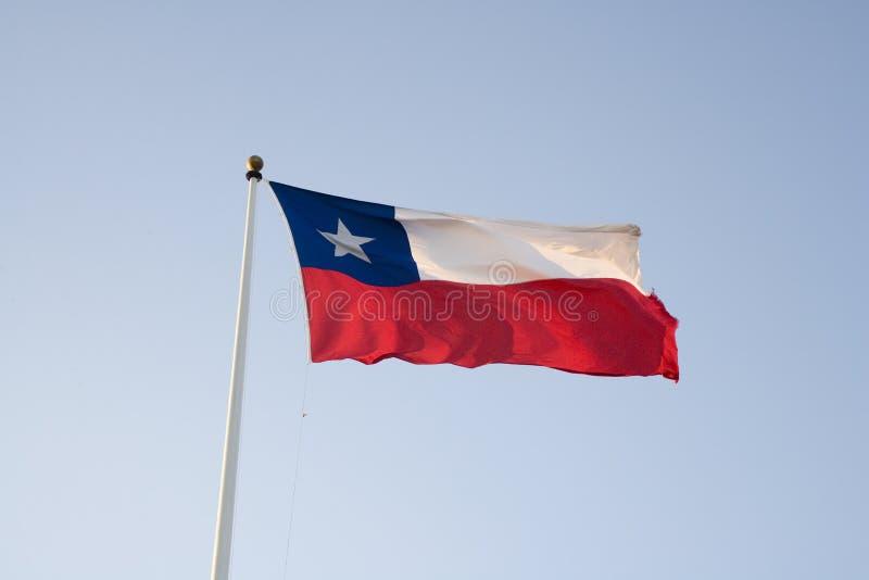 της Χιλής σημαία Στοκ Φωτογραφία