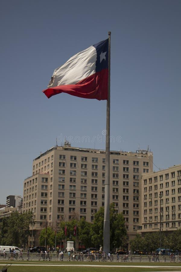 της Χιλής σημαία στοκ εικόνα με δικαίωμα ελεύθερης χρήσης