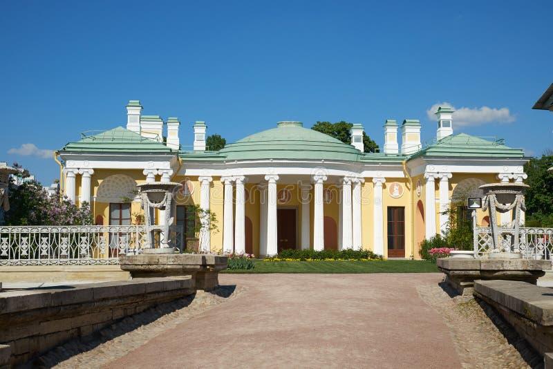 24 της Catherine χλμ κεντρικών οικογενειών προηγούμενος αυτοκρατορικός αριστοκρατίας πάρκων της Πετρούπολης νότος ST selo κατοικι στοκ φωτογραφίες με δικαίωμα ελεύθερης χρήσης
