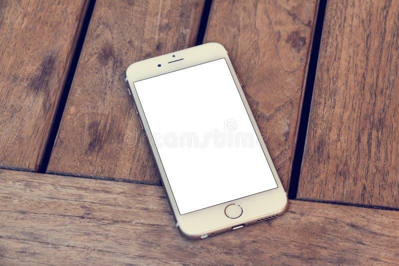 Τηλέφωνο 6 πρότυπο στοκ εικόνες