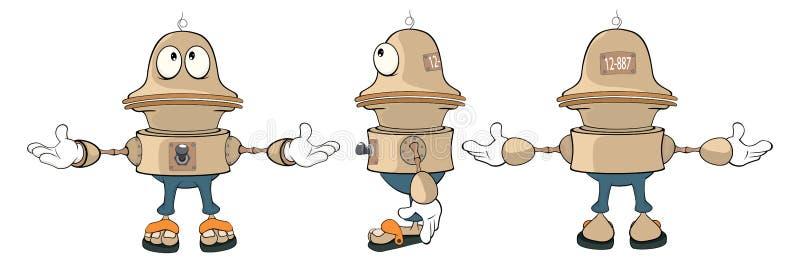 Τηλεοπτικά κινούμενα σχέδια φύλλων αστροναυτών χαρακτήρα παιχνιδιών διανυσματική απεικόνιση