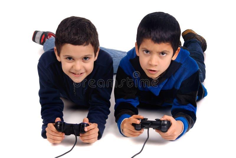 Τηλεοπτικά παιχνίδια στοκ φωτογραφία με δικαίωμα ελεύθερης χρήσης