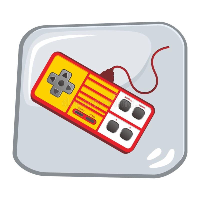 Download Τηλεοπτική τέχνη θέματος κονσολών παιχνιδιών Απεικόνιση αποθεμάτων - εικονογραφία από παιχνίδι, άσπρος: 62711553
