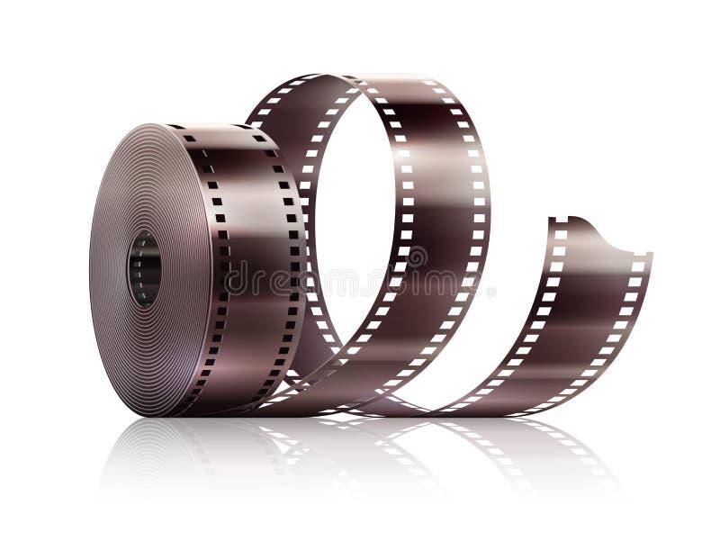 Τηλεοπτική ταινία ταινιών κινηματογράφων κινηματογραφίας απεικόνιση αποθεμάτων