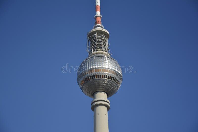 Τηλεοπτικός πύργος Βερολίνο στοκ εικόνες