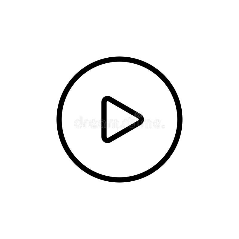 τηλεοπτικό εικονίδιο παιχνιδιού γραμμών στο άσπρο υπόβαθρο απεικόνιση αποθεμάτων