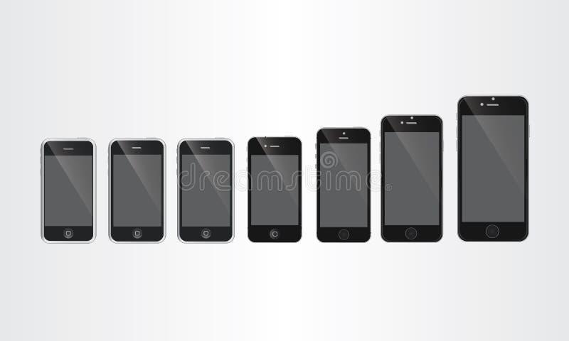 Τηλεφωνική εξέλιξη στοκ εικόνες