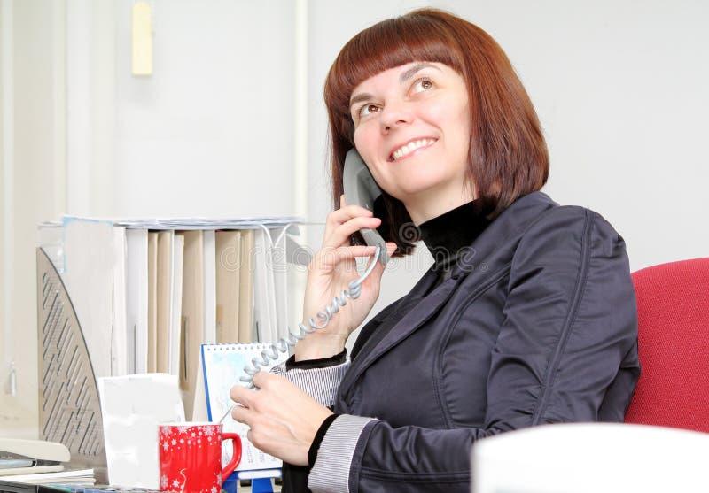 τηλεφωνική ομιλία στοκ εικόνα με δικαίωμα ελεύθερης χρήσης