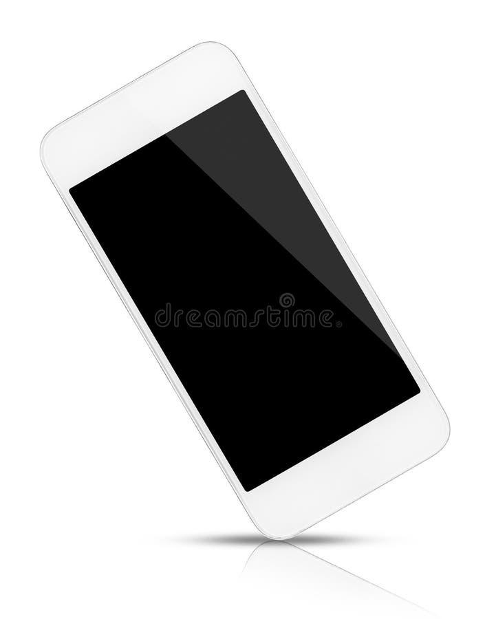 τηλεφωνικό έξυπνο λευκό στοκ εικόνες