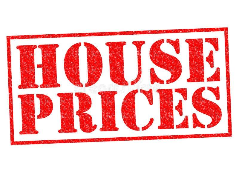 Τιμές κατοικίας διανυσματική απεικόνιση