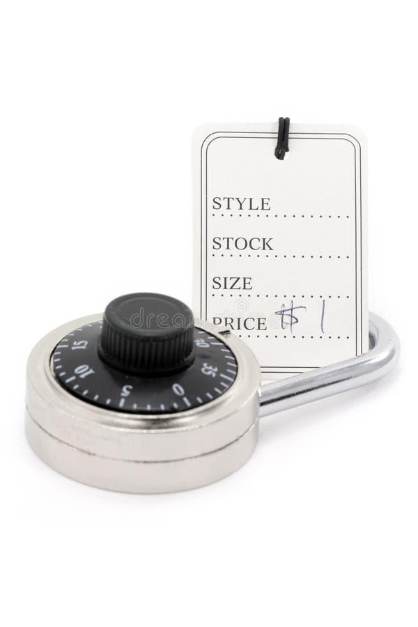 τιμή κλειδωμάτων στοκ φωτογραφία με δικαίωμα ελεύθερης χρήσης