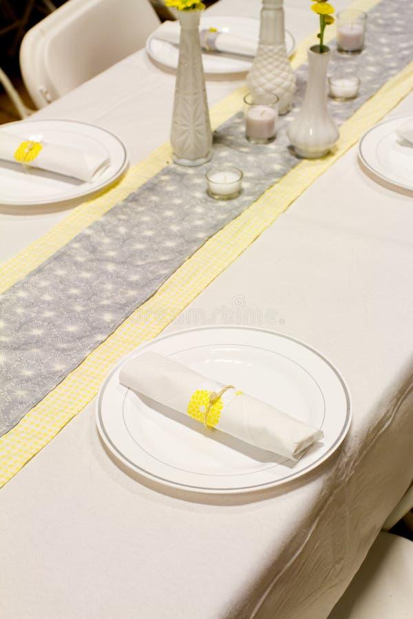 Τιμή τών παραμέτρων γαμήλιων θέσεων στοκ φωτογραφίες
