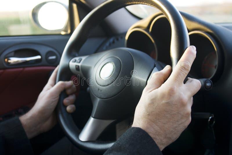 τιμόνι χεριών στοκ φωτογραφίες