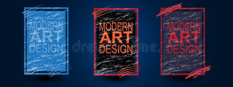 Τις καλύψεις καθορισμένες το σχέδιο επιχειρησιακών αφισών, σχεδιάγραμμα ιπτάμενων φυλλάδιων, διανυσματική απεικόνιση