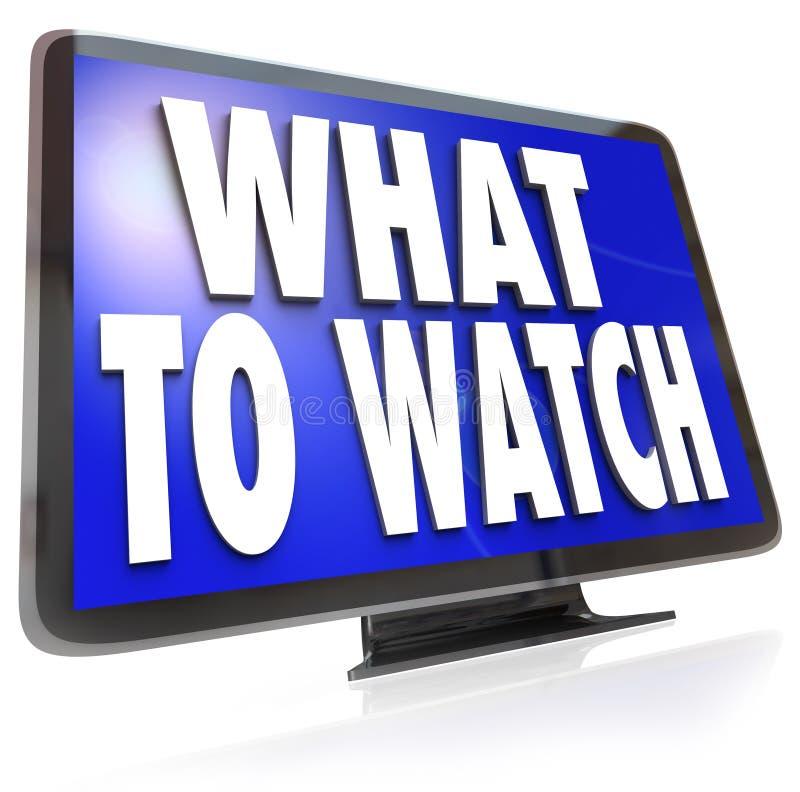 Τι για να προσέξει τον οδηγό πρότασης τηλεοπτικής οθόνης HDTV απεικόνιση αποθεμάτων