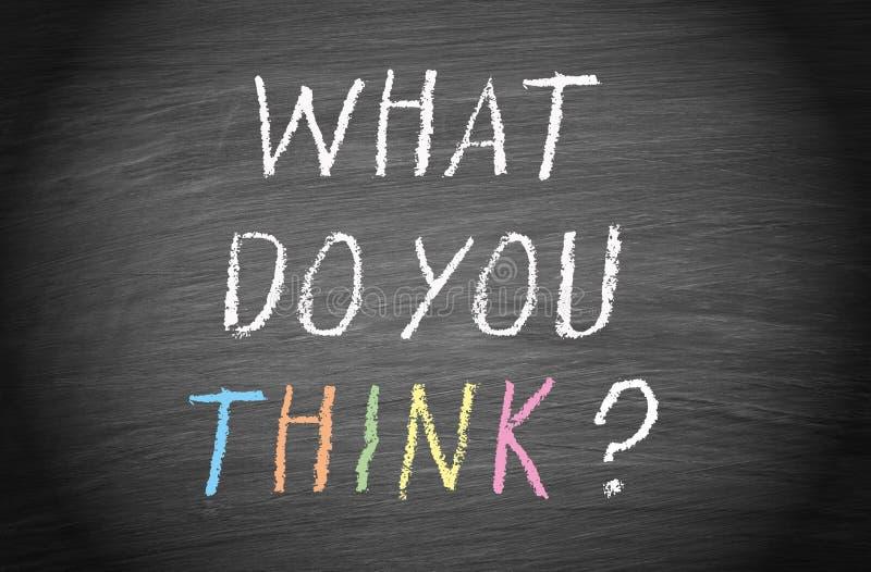 Τι σκέφτεστε; στοκ εικόνα με δικαίωμα ελεύθερης χρήσης