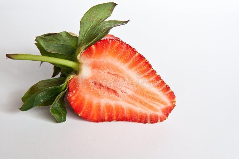 Τμήμα φραουλών στοκ φωτογραφία με δικαίωμα ελεύθερης χρήσης
