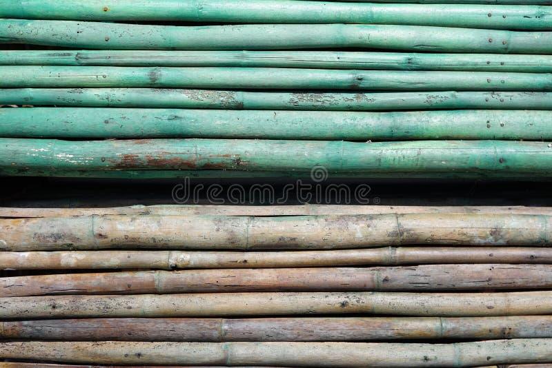 τοίχος à¸'Bamboo στοκ φωτογραφίες με δικαίωμα ελεύθερης χρήσης
